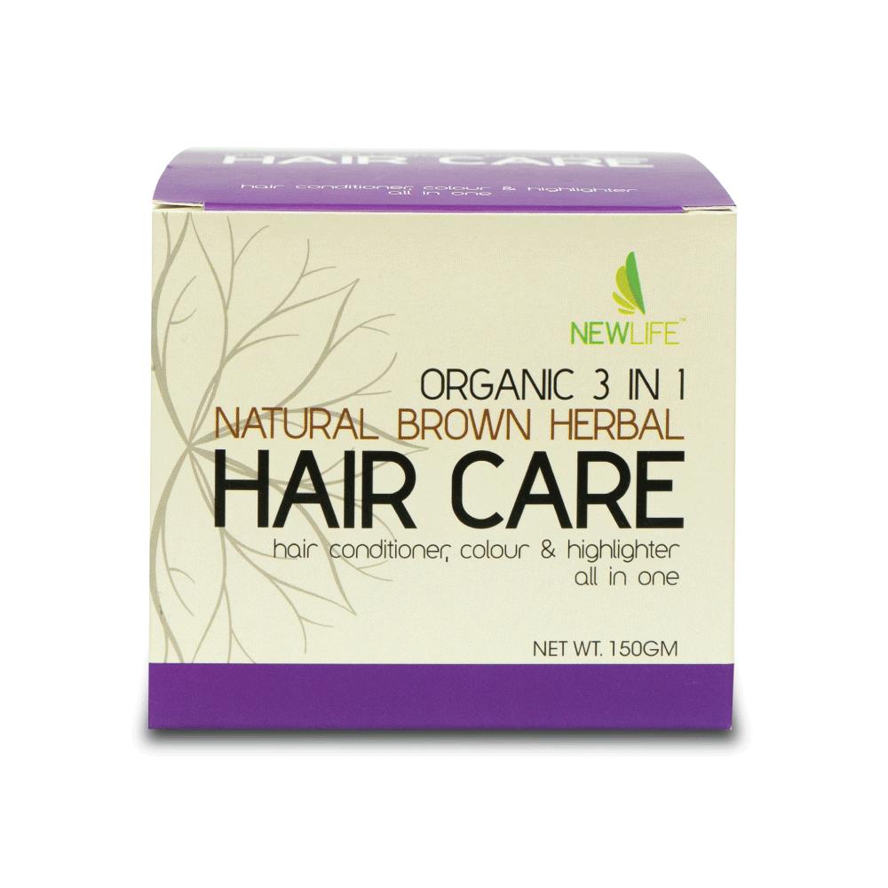 3 In 1 Natural Brown Herbal Hair Care (150Gm)