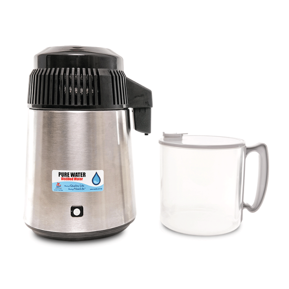 Pure Water Distiller (With Pp Bottle)