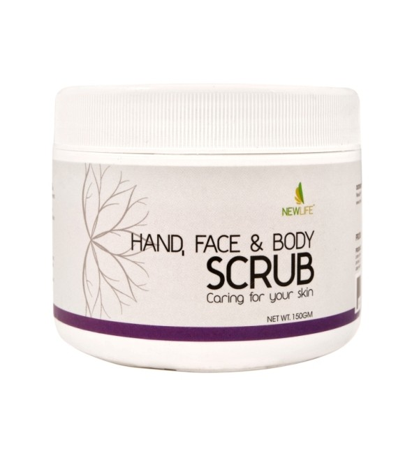 Hand, Face & Body Scrub